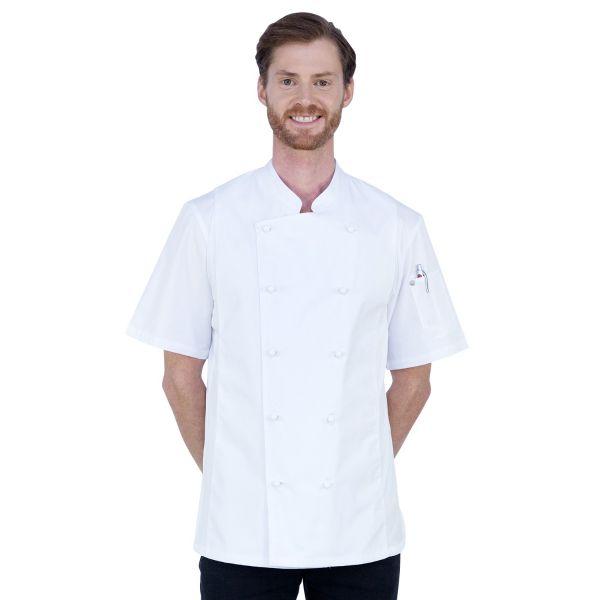 Alex Cool Mesh Jacket White