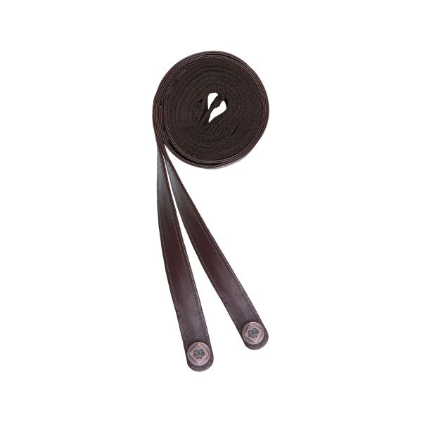 Apron Strap PVC Chocolate Brown