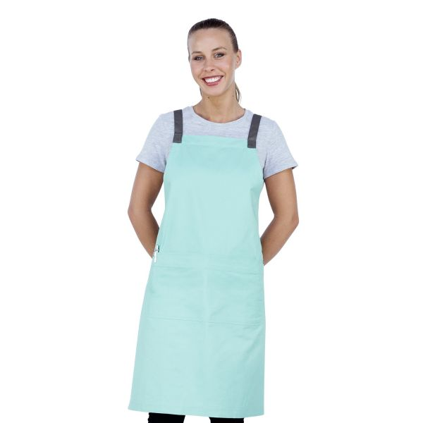 Ice Cream Bib Apron Mint Green