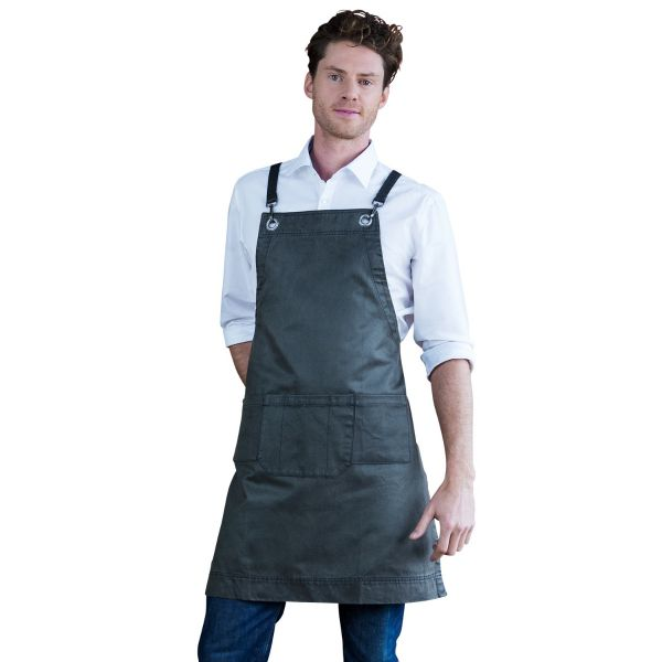 Outback Bib Apron Forest Green