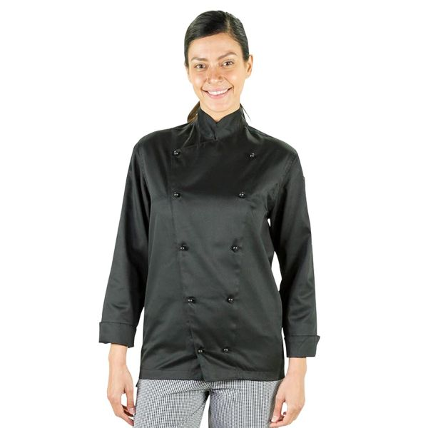 Prochef Classic Chef Jacket Black