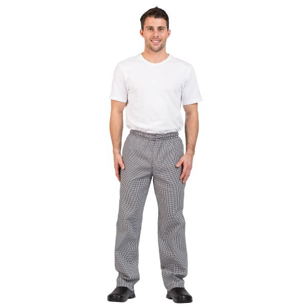 Trad Check Chef Pants