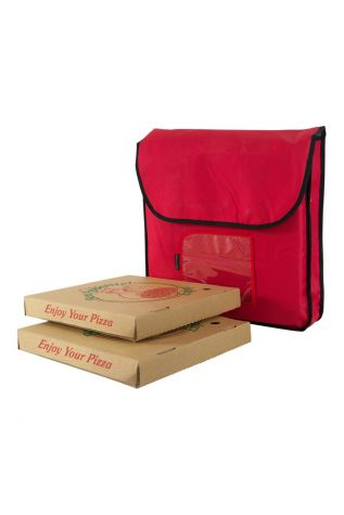 Insulated Food Delivery Bag Red
