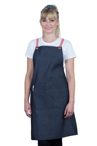 Bella Bib Apron Charcoal Grey - GrapeFruit