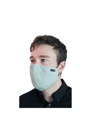 Reusable Cloth Face Mask Bean Green with FREE PM2.5 Filter