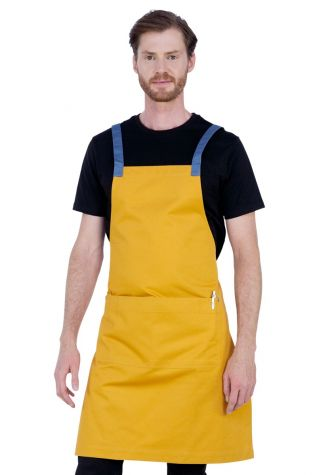 Ice Cream Bib Apron Mango Yellow