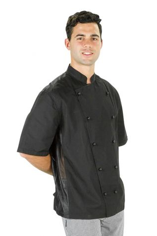 Procool Chef Jacket Black