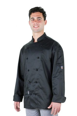 Traditional Chef Jacket Black