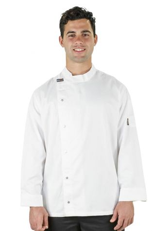 Modern Tunic Chef Jacket  White