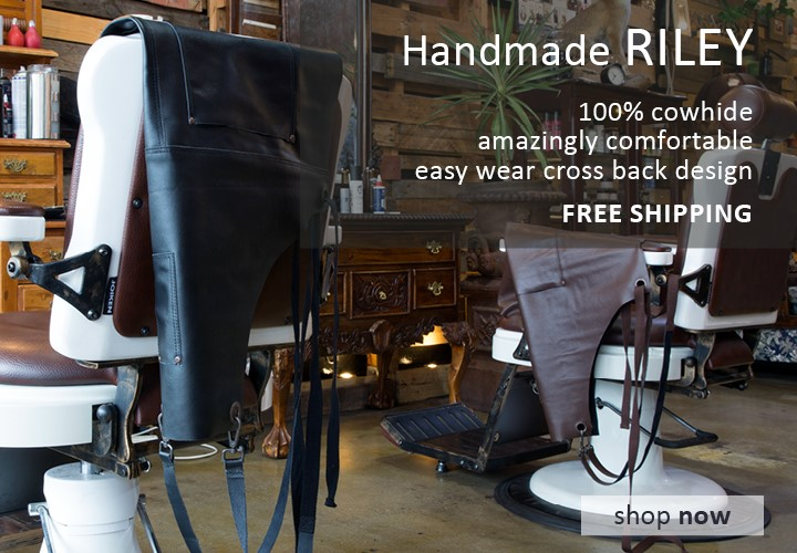 Riley Leather Apron